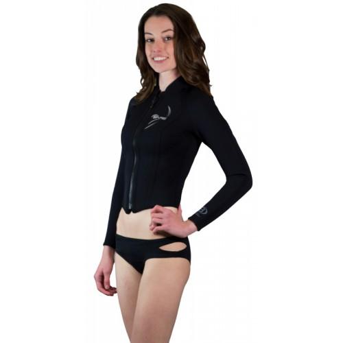 b072009026 Bare Women's 3mm Front Zip Sport Wetsuit Jacket