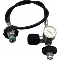 DIR Zone Decanting Hose with Gauge