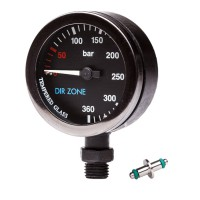 DIR Zone PVD SPG Black - 300 Bars