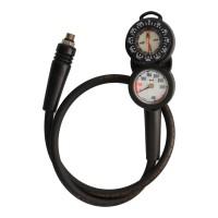 Dive Box Compass and Pressure Dive Console