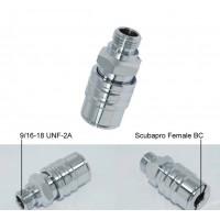 "Dive Box ""Scubapro Air 2 Style"" QD Adaptor"