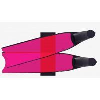 Leaderfins Designer Edition Pink Colour Bi-Fins