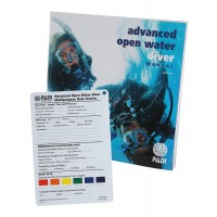 PADI Advance Open Water Manual with Data Carrier