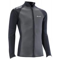 Problue Men's 3mm Front Zip Wetsuit Jacket